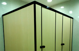 Nylon Restroom Partitions