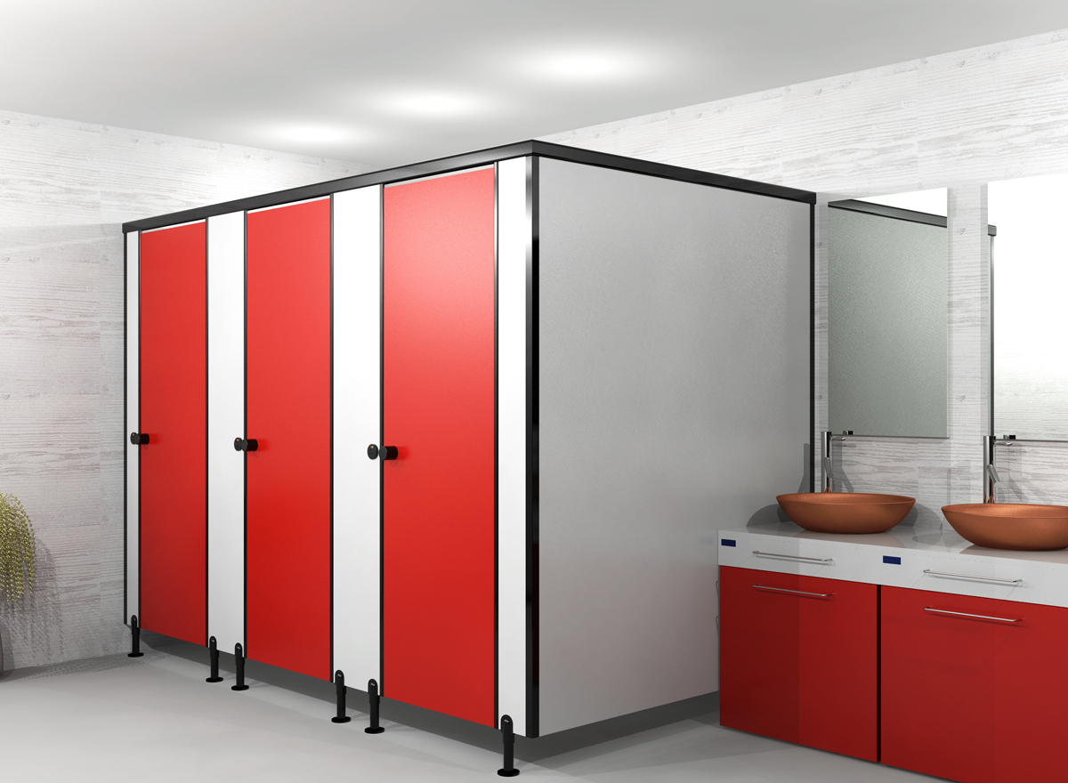 Toilet cubicles washroom cubicle bathroom partition for Bathroom partitions