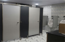 SS Washroom Cubicles Partitions