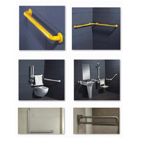 Toilet partitions Accessories - Graber