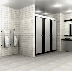 top hung washroom washrrom restrrom cubicle partition