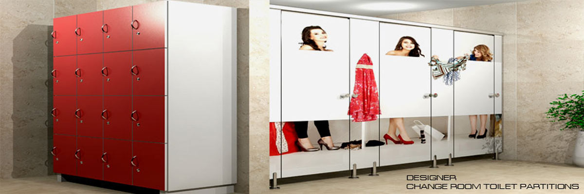 designer changeroom toilet cubicles