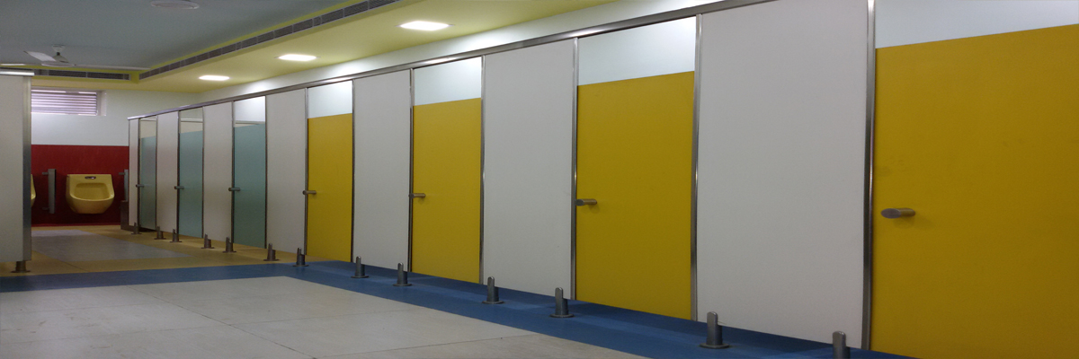 Toilet Cubicle Washroom Cubicles Bathroom Partitions Toilet - Steel bathroom partitions